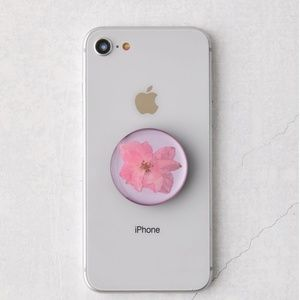 Urban PopSockets Pressed Floral Flower Phone Stand